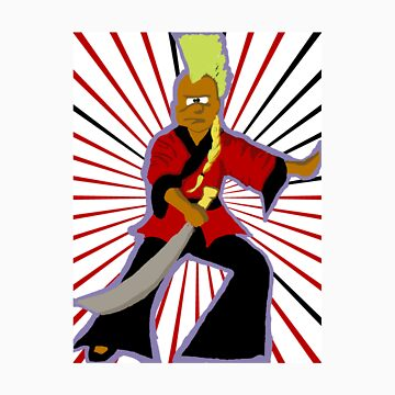 Kung fu Hairos - Mowhawk Master by cottoncandy