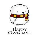 Happy Owlidays by Stacey Roman