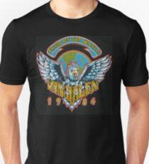 Vintage- Tour of the World 1984 Unisex T-Shirt