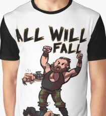 ALL WILL FALL to Strowman! Graphic T-Shirt