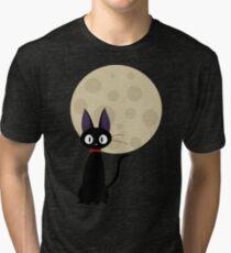 Jiji the Cat Tri-blend T-Shirt