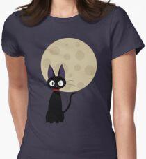 Jiji the Cat Women's Fitted T-Shirt