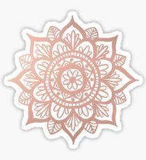 Neue Rose Gold Mandala Sticker