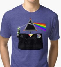 This Island Earth Interocitor Dark Side Prism Tri-blend T-Shirt