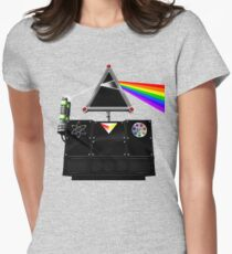 This Island Earth Interocitor Dark Side Prism Womens Fitted T-Shirt