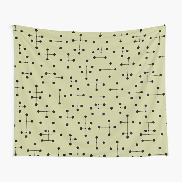 Midcentury Modern Dots 104 Tapestry