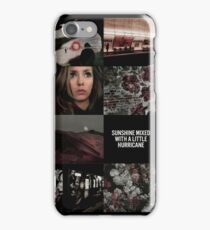 Nina Dobrev (collage) iPhone Case/Skin