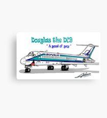 Republic DC-9 Metal Print