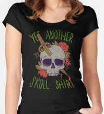 Yet Another Skull Shirt Women's Fitted Scoop T-Shirt