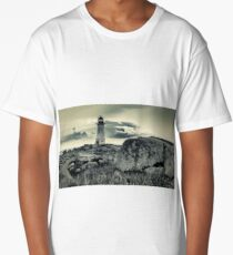 Peggys Cove Lighthouse Long T-Shirt