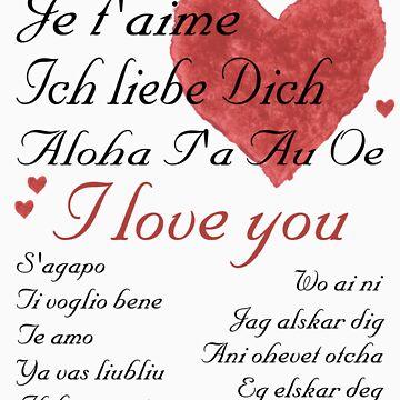 I love you by envirojo