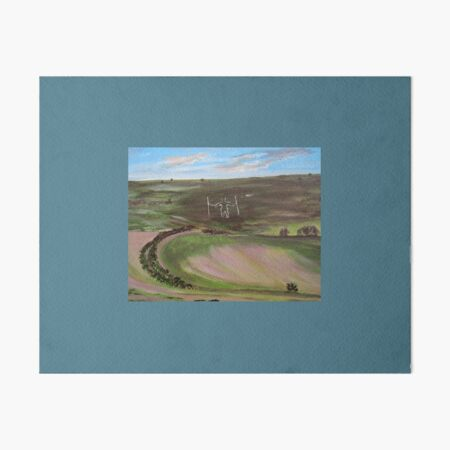 Long man. English iconic image Art Board Print