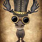 Steampunk Baby Elch von jeff bartels