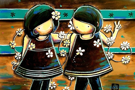 Daisy Chains by Karin Taylor
