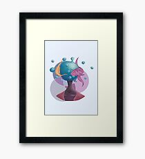 Water Head Framed Print