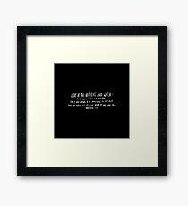Habakkuk 1:5 II Framed Print