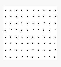 Punkt-Raster Fotodruck