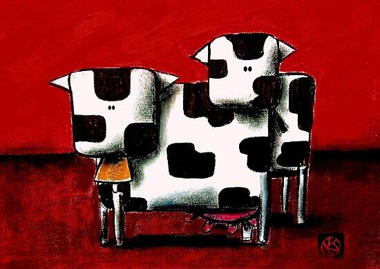 Baby Bull Production by © Karin Taylor