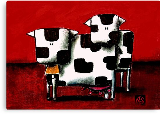 Baby Bull Production by Karin Taylor