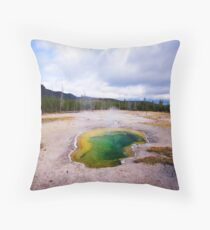 Green Eye - Amazing, Incredible Landscape, Wild, Nature Throw Pillow