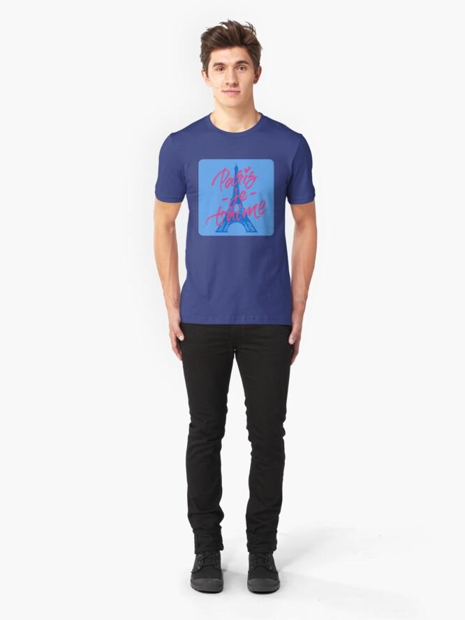 Alternate view of Paris J'Taime Slim Fit T-Shirt