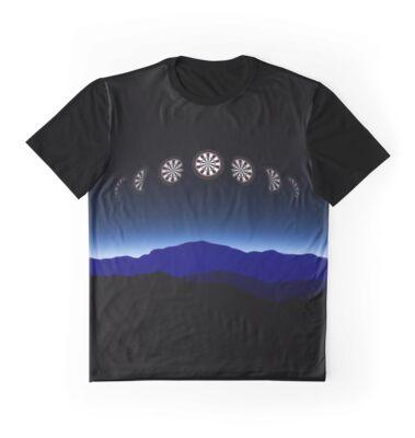 Moon Phases Darts Shirt