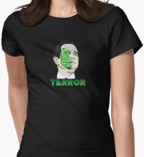 The President of Terror  Women's Fitted T-Shirt