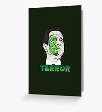 The President of Terror  Greeting Card