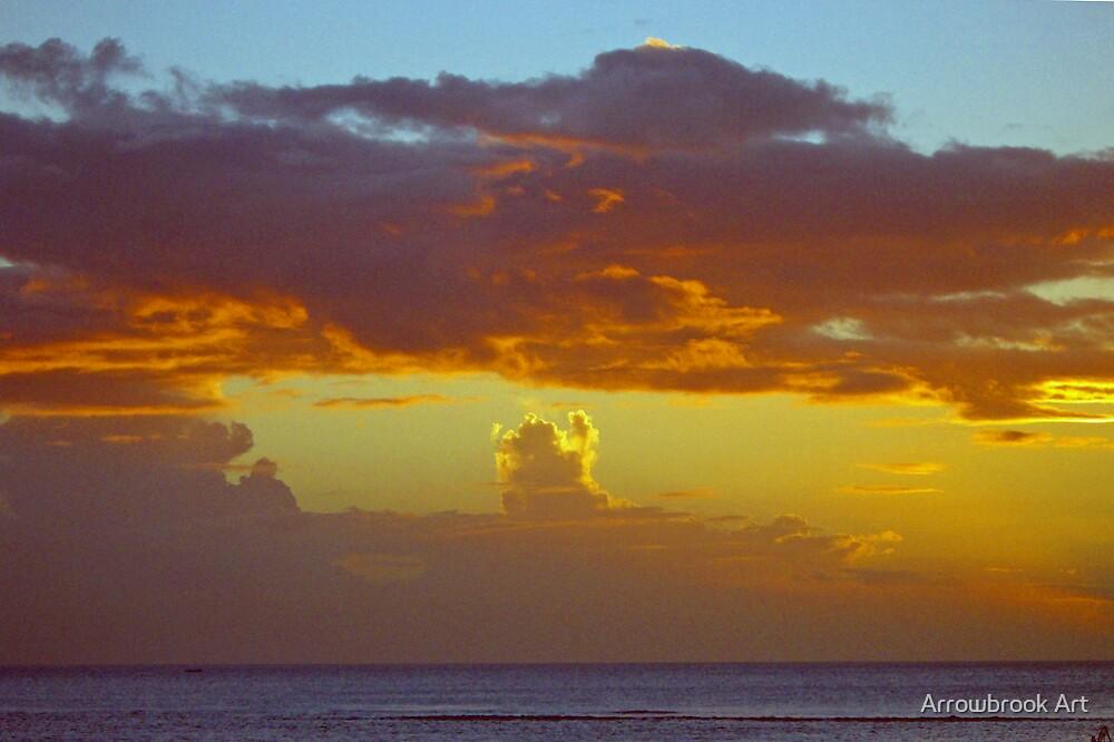 Sunset - Indian Ocean by John Brotheridge