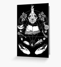 Wicca Greeting Card