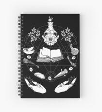Wicca Spiral Notebook