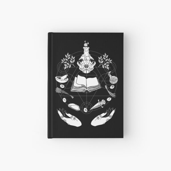Wicca Hardcover Journal
