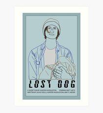 Lost Dog (2016) Art Print
