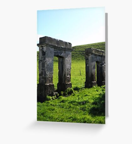 Doorways to the Past Greeting Card