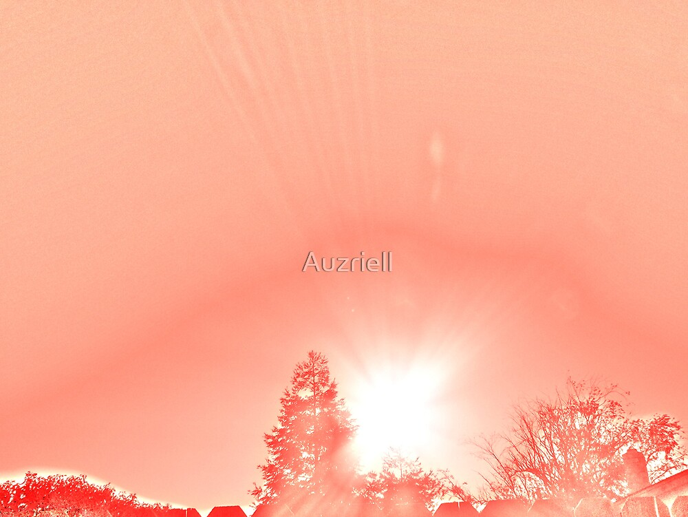 Burst of Red by Auzriell