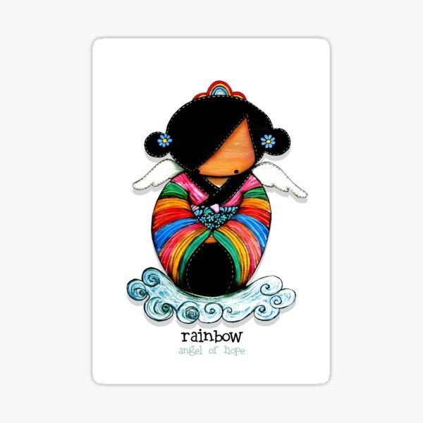 Rainbow - Angel of Hope Sticker