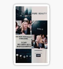 Sabrina Carpenter (collage) Sticker