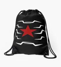 Winter Soldier Drawstring Bag