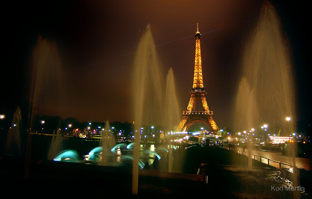 One night in Paris by Kori Martin