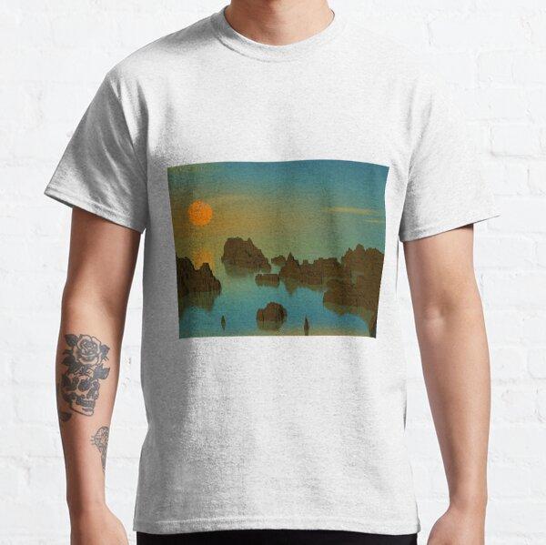 Sunset: POV RAY CGI!  Classic T-Shirt