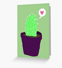 Happier Cactus Greeting Card