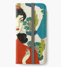 Girl with Cacti iPhone Wallet/Case/Skin