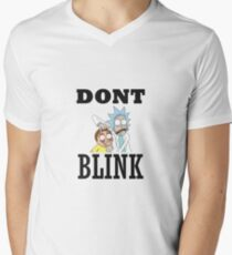 DONT BLINK - RICK AND MORTY -DOCTOR WHO T-Shirt T-Shirt