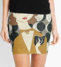 Minifalda Fases de la luna Mujer