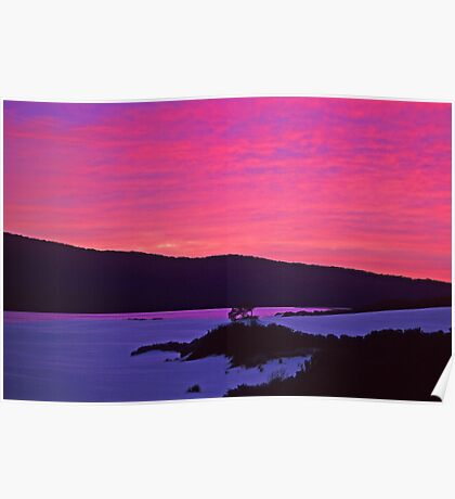 Barracoota Sunrise Poster