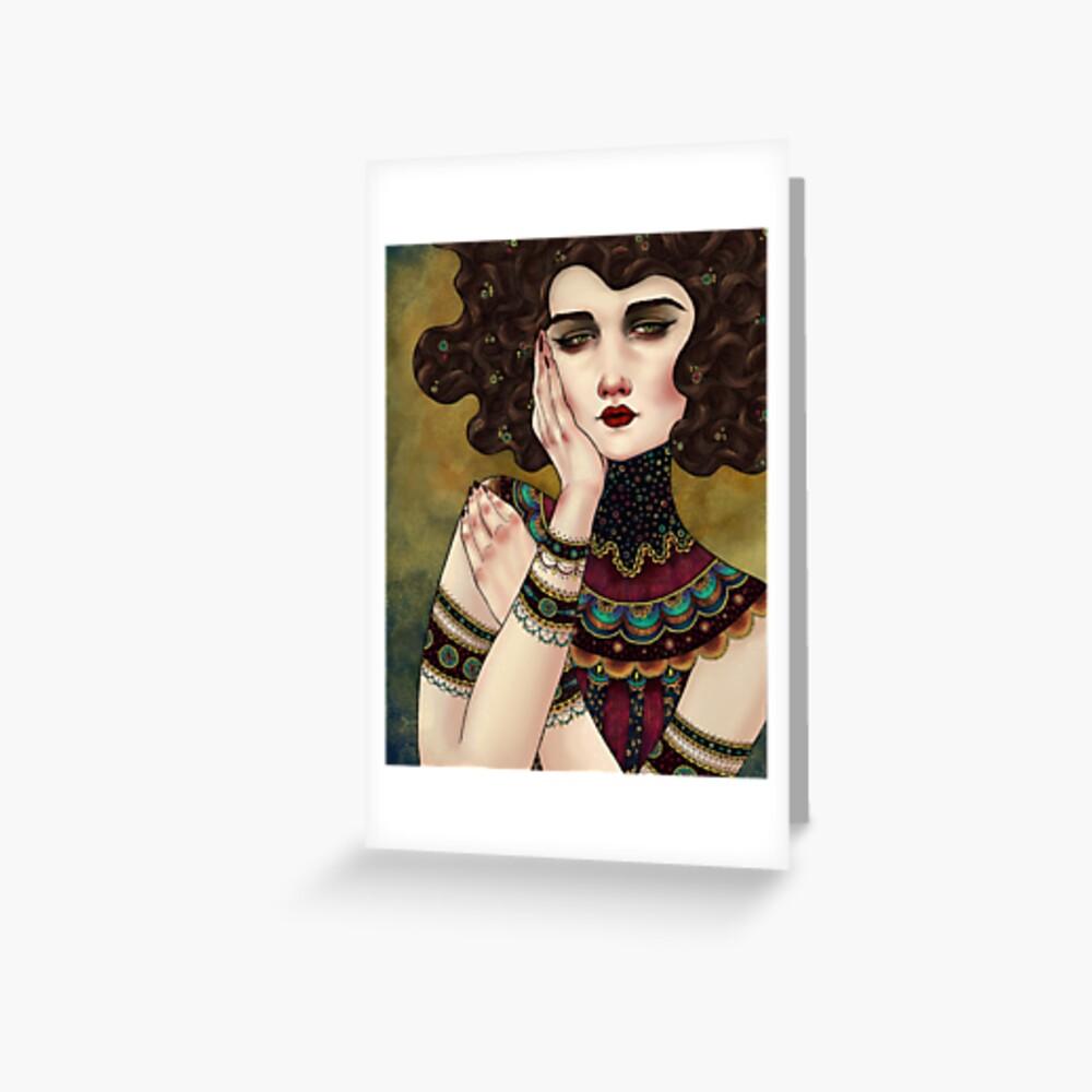 Klimt Muses 5 Greeting Card