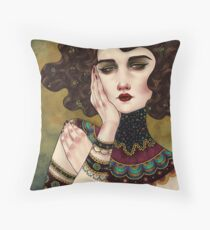 Klimt Muses 5 Throw Pillow