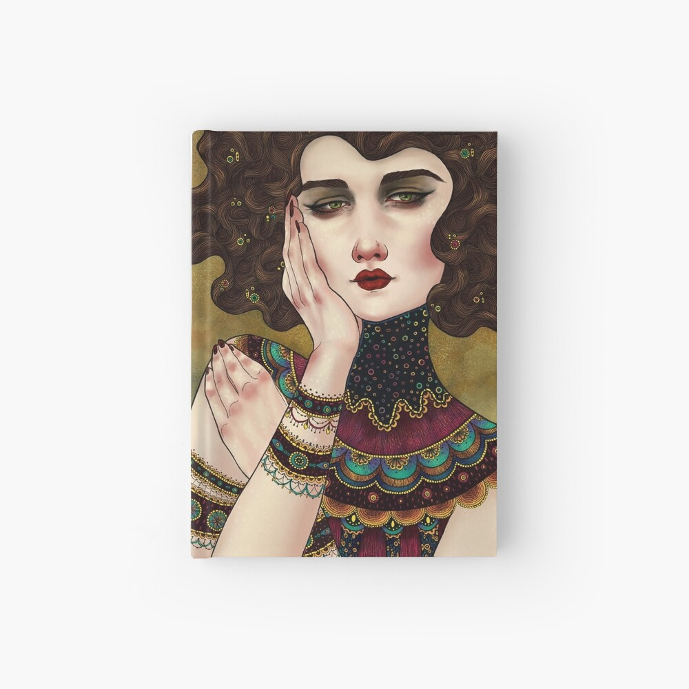 Klimt Muses 5 Hardcover Journal