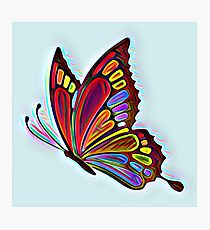 Colorful Abstract Butterfly Art Photographic Print