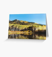Willow Lake Greeting Card